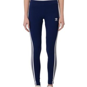 Adidas 3 Stripe Leggings Size M